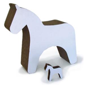 cavallino in cartone