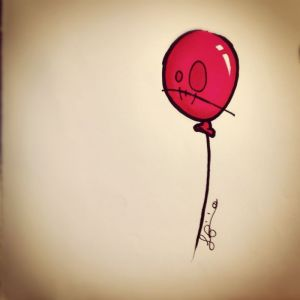 palloncino rosso